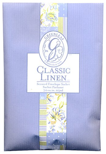 Classic Linen Scented Sachet Greenleaf GL900438