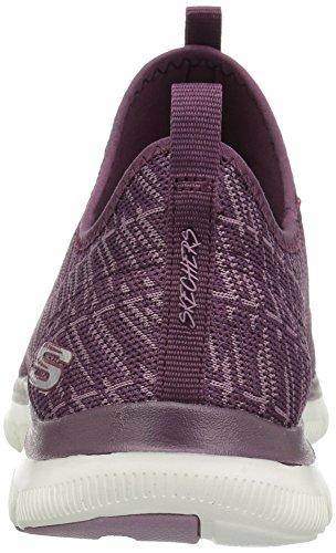 Skechers Frauen Flex Appeal 2.0 Insight Sneaker Pflaume