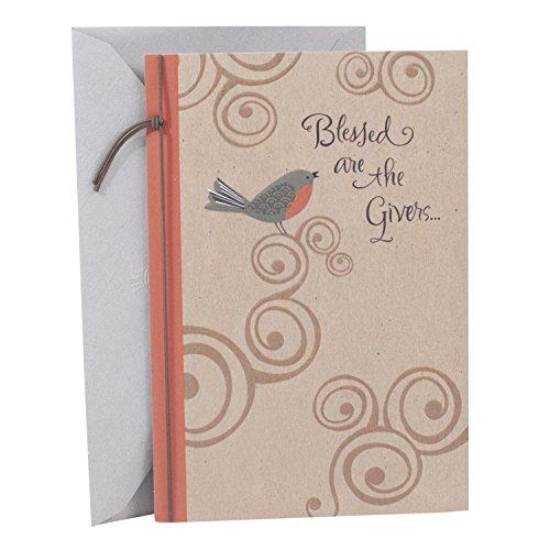 - Hallmark Mahogany Religious Thank You Greeting Card (Bird)