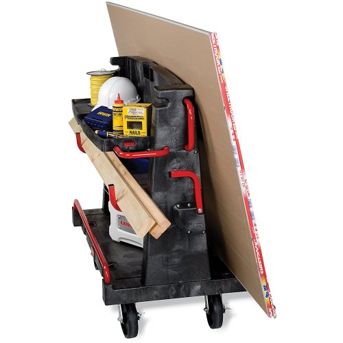 """Rubbermaid Convertible A-Frame Panel Truck - 44""""Lx24""""W Deck"""