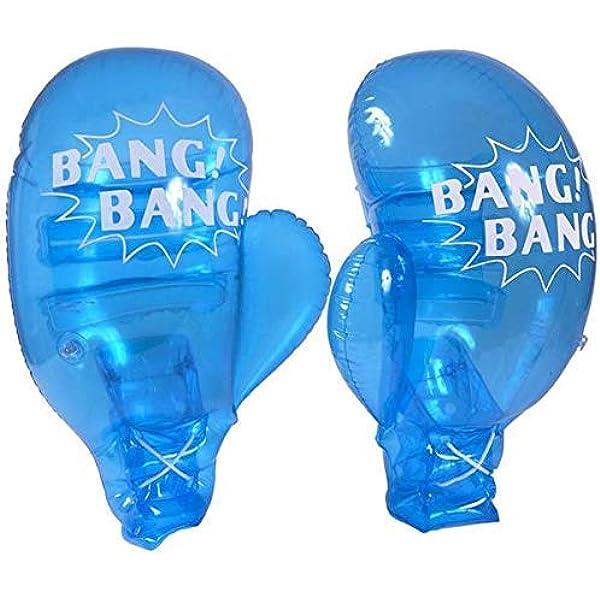 Amazon.com: Guantes inflables de boxeo para niños a ...