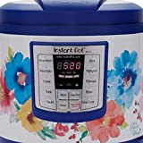 Instant Pot Pioneer Woman LUX60 Breezy Blossoms 6 Qt 6-in-1 Multi-Use Programmable Pressure