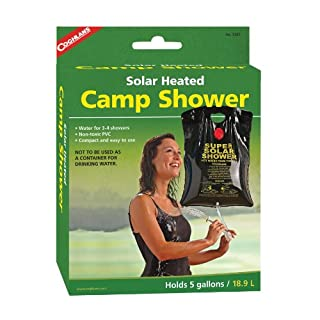 Coghlan's Solar Heated Camp Shower, 5-Gallon, Black (B000VNITQS) | Amazon price tracker / tracking, Amazon price history charts, Amazon price watches, Amazon price drop alerts