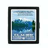 Metal Cigarette Case Vintage Poster D-033 Glacier National Park