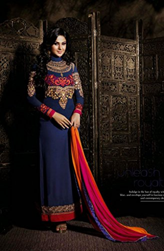 Fab-Glory-Blue-Anarkali-Salwar-Kameez-Suit-Bollywood-Designer-Party-Dress