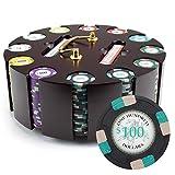 Claysmith Gaming 300ct Poker Knights Poker Chip Set