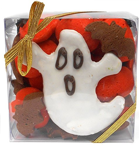 Claudia's Canine Bakery Halloween Gourmet Dog Treat Gift Box - Cookies Halloween Dog