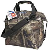 AO Coolers Deluxe Canvas Soft Cooler with High-Density Insulation, Mossy Oak, 12-Can
