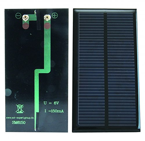 Cellule solaire 6,00 V - 150 mA