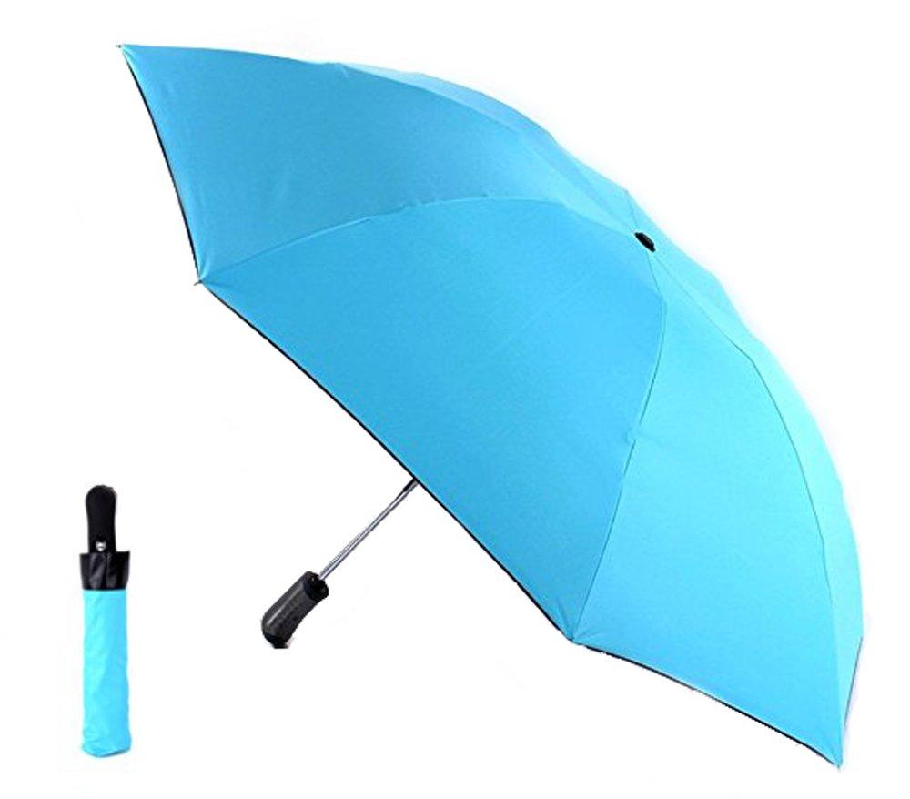 lcfun Automatic Compact Travel Umbrella Reverse Folding Open Close Windproof Umbrella Rain Women by lcfun (Image #1)