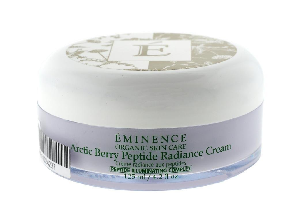 Eminence Organic Skincare Artic Berry Peptide Radiance Cream, 4.2 Ounce