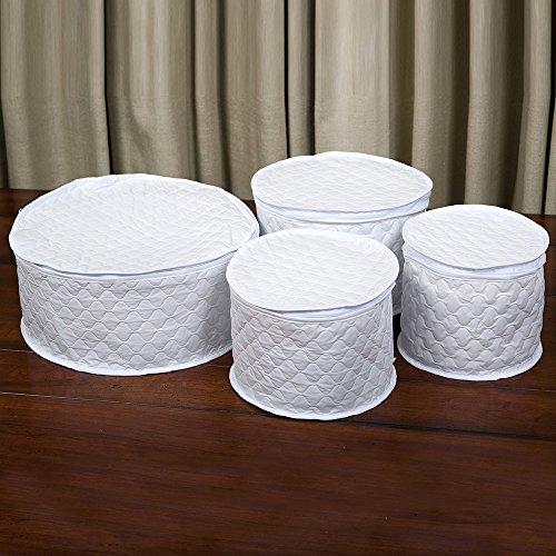 Storage 6 Piece China (Marathon Housewares KW200026 China Storage 4 Piece Dish Case Set)