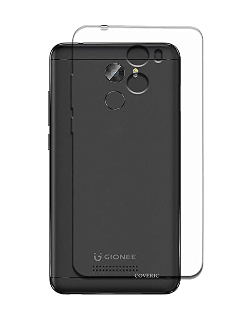 newest 41d9d 2d67c Coveric Gionee A1 Lite Transparent Back Cover: Amazon.in: Electronics