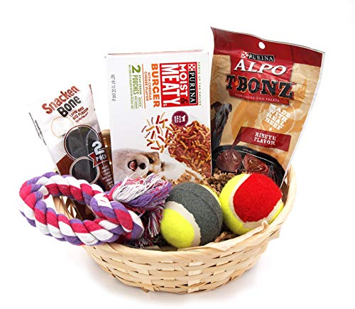 Best Dog Puppy Care Gift Basket Package Box Set