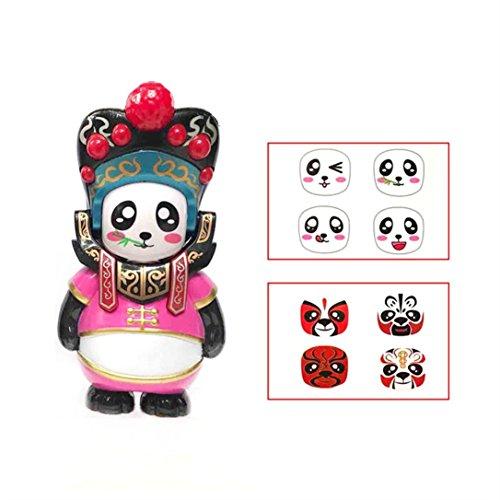 Memela Chinese Opera Face Changing Doll Sheng Dan Jing Chou (Dan:Yong and beautiful (Chinese Opera Dolls)