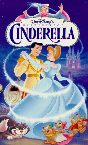 Cinderella (Walt Disney's Masterpiece) [VHS] (Christmas Rated G Cartoons)