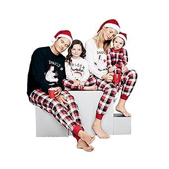 shireake baby maddy mama kids baby bear matching family christmas pajamas jammies sets for the family