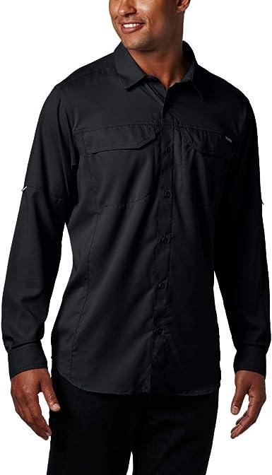 Columbia Silver Ridge Lite Camisa de Manga Larga para Hombre, protección Solar UV, Tela Que Absorbe la Humedad: Amazon.es: Deportes y aire libre