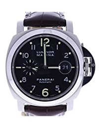 Panerai Luminor Marina automatic-self-wind mens Watch PAM00164 (Certified Pre-owned)