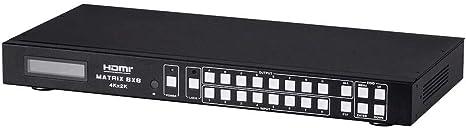 Monoprice Blackbird 4K Pro 1x4 HDMI Splitter with HDCP 2.2 and EDID Open Box