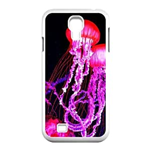 Colorful jellyfish Classic Personalized Phone Case for SamSung Galaxy S4 I9500,custom cover case ygtg-710374