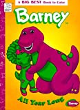 Barney All Year Long (Big Best Book to Color)