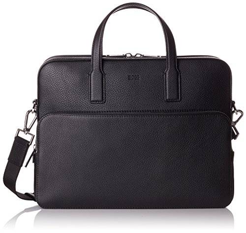 BOSS Crosstown_s Doc Case, Men's Laptop Bag, Black, 8.5x30x38 cm (B x H T)