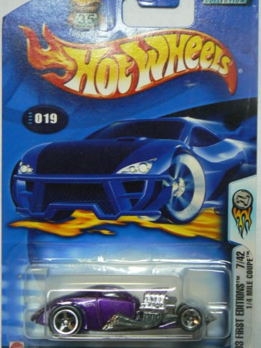 Hot Wheels 2003 First Editions 1/4 Mile Coupe on Alternate Card (0.25 Mile Coupe)