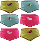 TDP Textiles Trolls Love Poppy Girls 6 Pack Knickers Briefs 2-3 Years