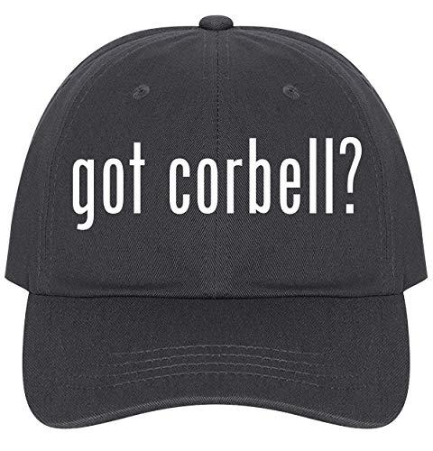 The Town Butler got Corbell? - A Nice Comfortable Adjustable Dad Hat Cap, Dark Grey