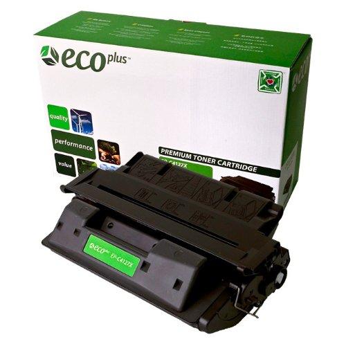 EcoPlus C4127X 27X Premium Remanufactured Black Toner Cartridge for HP LASERJET 4050N, 4050SE, 4050T, 4050TN, Brother HL2460, HL2460N