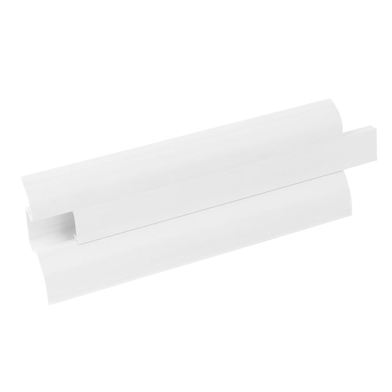 PVC Facile et test/é system dinstallation 1 pc angle ext/érieur pour plinthe couleur: Chene blanc