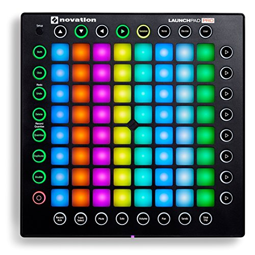 Novation Launchpad Pro Professional 64-Pad Grid Performance Instrument for Ableton with MIDI I/O