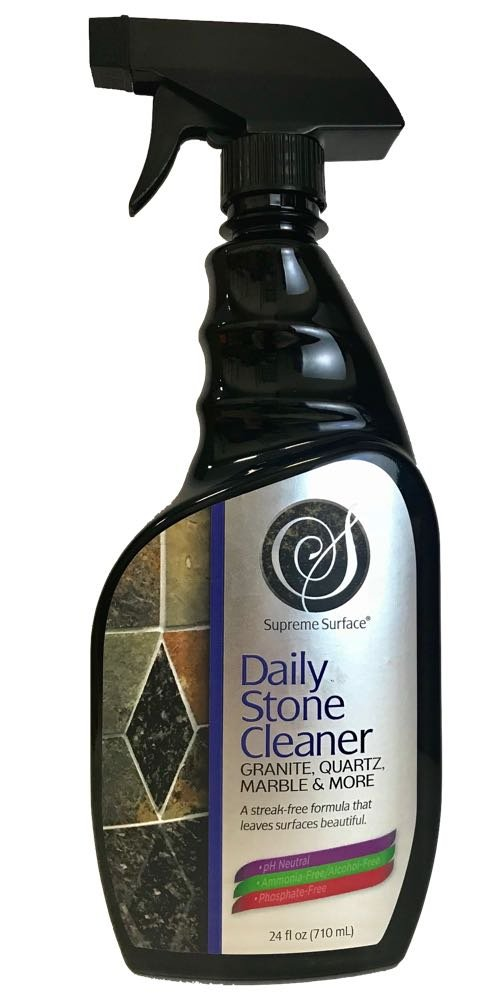 Supreme Surface Daily Stone Cleaner For Granite, Quartz, Marble & More
