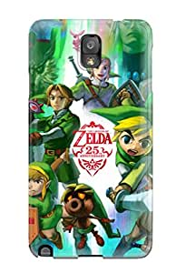 Hotlove Galaxy Note 3 Hybrid Tpu Case Cover Silicon Bumper Legend Of Zelda 25th Anniversary