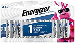Image of the product Energizer AA Lithium that is listed on the catalogue brand of Energizer. The product has been rated with a 4.8 over 5