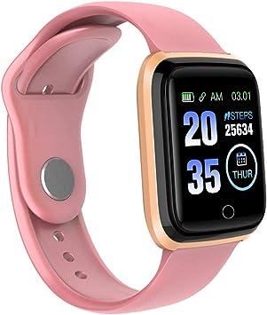 Glowjoy Smartwatch Fitness Reloj de Pulsera Fitness Tracker para ...