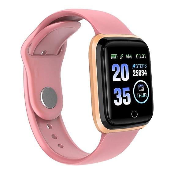 CAOQAO Reloj Inteligente Unisex Android iOS Deportes Fitness Calorías Muñequeras Reloj Inteligente For Xiaomi iPhone Samsung Huawei