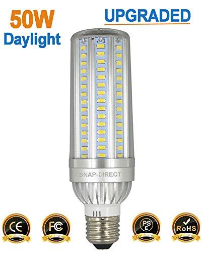 Cheap  50W LED Corn Bulb 5400 Lumen 350 Watt Equivalent 6500K Cool Daylight..