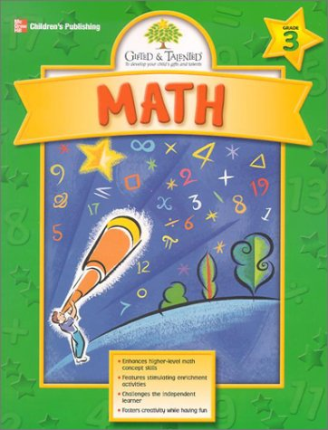 Gifted & Talented Math, Grade 3 PDF