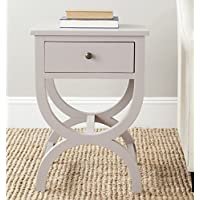 Safavieh American Homes Collection Maxine Quartz Grey Accent Table