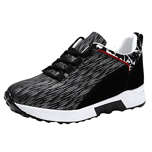 Leisure Ladies Increased Sports Grey Shoes Hiking Shoes Height Shoes Walking Running Waterproof Shoes snfgoij Girls Z6q8wdn8U