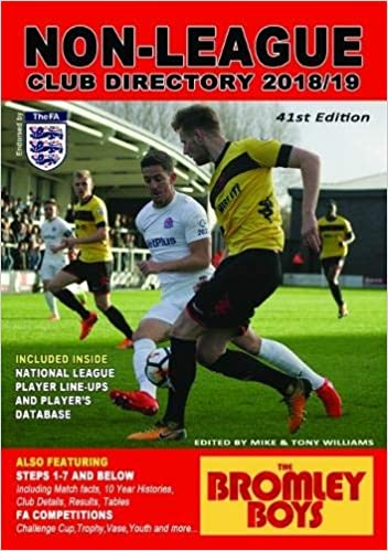The Non League Club Directory 2018 19 Amazon Co Uk Mike Williams