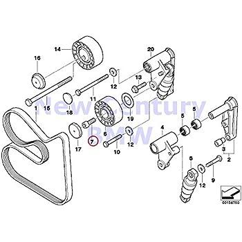 BMW Genuine Upper Alternator Air Duct for 320i 323Ci 323i 325Ci 325i 325xi 328Ci 328i 330Ci 330i 330xi Z3 2.5i Z3 3.0i