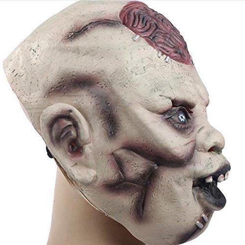 ... Props Super Horror Mask Lantou Burst Brain BML Brand // Cerebro de Halloween máscaras de barras tocados miedo apoyos decoradas máscara de terror súper: ...
