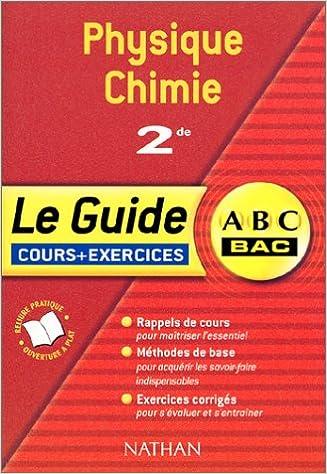 Livre gratuits ABC du Bac : Physique - Chimie, 2nde pdf, epub ebook