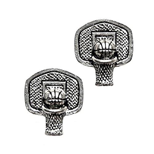 - Quality Handcrafts Guaranteed Basketball Hoop Cufflinks