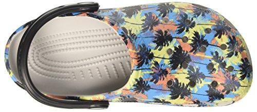 Crocs Unisex Classic Tropics Clog Pearl White