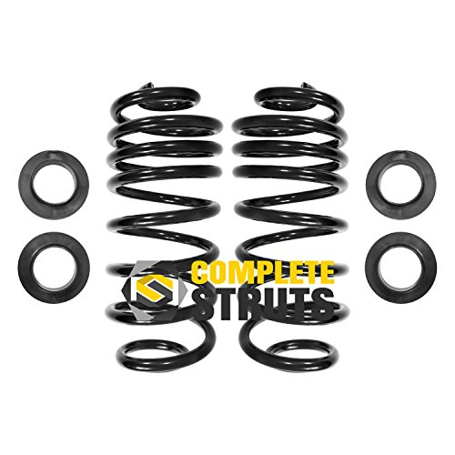 (Rear Air Suspension to Coil Spring Conversion Kit Compatible with 2004-2005 Buick Rainier (Pair) )