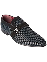 Alberto Fellini Mens loafers-shoes Slip-On Patent Leather Formal Business Dress Or Fashion